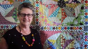 Chris Jurd at Springwood Quilt Show