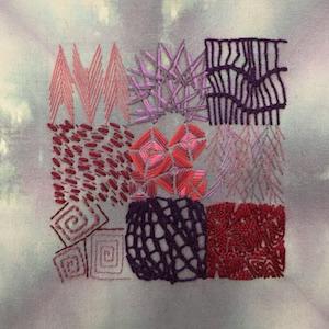 Jo Dixey Mini Stitch Sampler