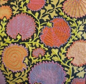 Jo Dixey Embellished Fabric Class Sample