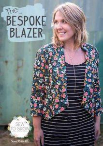 The Sew to Grow Bespoke Blazer Pattern Cover