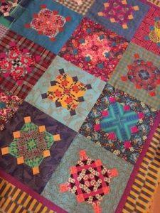 Lynne Wilson Anna's Garden quilt detail
