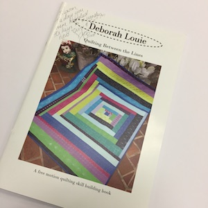 Quilting Between the lines Book with Deborah Louie