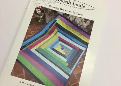 Deborah Louie Quilting Between The Lines