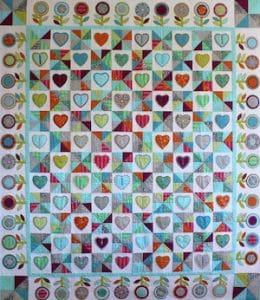 Deborah Louie Hearts and Lollipops Quilt