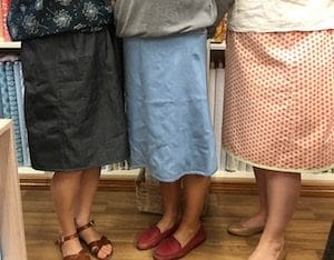 Three finished skirts!