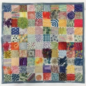 Jo Dixey 100 Days Embroidery Sampler